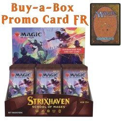 Strixhaven: School of Mages - Set Booster Box and Buy-a-Box Card