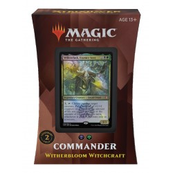 Strixhaven: School of Mages - Deck Commander 3 - Witherbloom Witchcraft (BG)