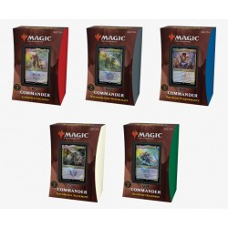 Strixhaven: School of Mages - Commander Decks - Set of 5 Decks