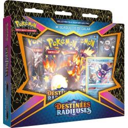 Pokémon - SWSH4.5 - Destinées Radieuses - Folle Aventure Pin Box - M. Glaquette de Galar (FR)