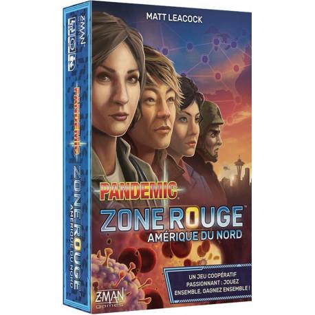 Pandemic Zone Rouge : Amérique du Nord (FR)