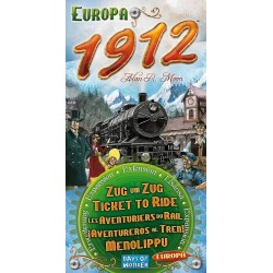 Les Aventuriers du Rail Europa 1912 - Ticket to Ride Europa 1912 (Multi)