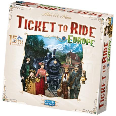 Ticket to Ride Europe - 15th Anniversary (Multi)