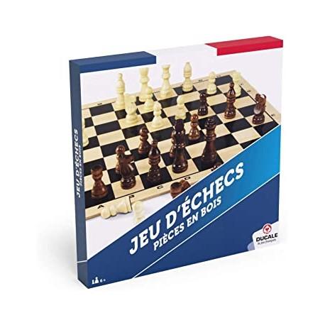 Jeu d'échecs Ducale plateau en bois 29x29cm (FR)