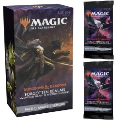 Adventures in the Forgotten Realms - Prerelease Pack and 2 Draft Boosters (FR)