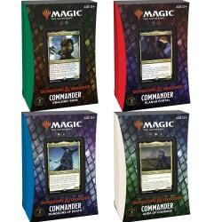 Adventures in the Forgotten Realms - Commander Deck - Set of 4 decks
