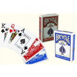 Bicycle Prestige Rider 100% Plastic Poker Playing Cards