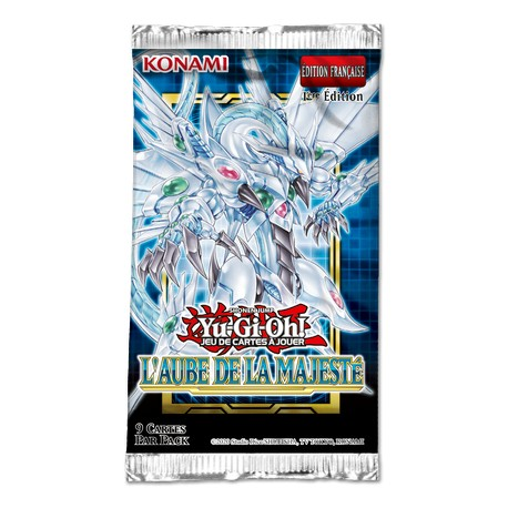 Yu-Gi-Oh! - L'Aube de la Majesté - Booster (FR)