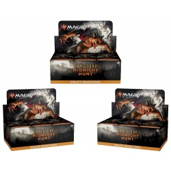 Innistrad Midnight Hunt - 3 Draft Booster Boxes