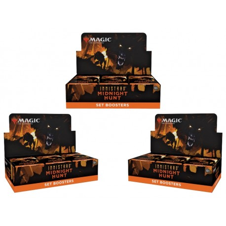 Innistrad Midnight Hunt - 3 Set Booster Boxes
