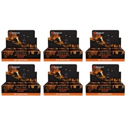 Innistrad Midnight Hunt - Case of 6 Set Booster Boxes