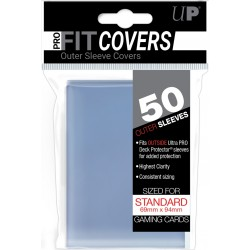 Ultra Pro - 50 Over Standard Sleeves - Pro-Fit Sleeve Covers