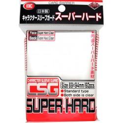 KMC Sleeves - 60 Standard Sleeves - Character Guard Super Hard (Sleeve Covers)