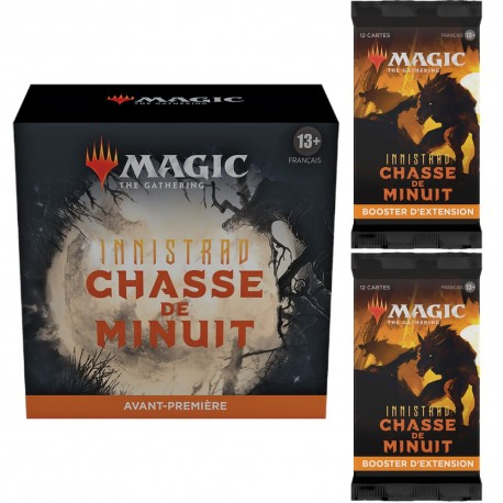 Innistrad Midnight Hunt - Prerelease Pack and 2 Set Boosters (FR)