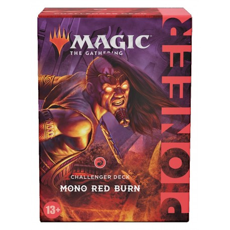 Pioneer Challenger Deck 2021 - Mono-Red Burn