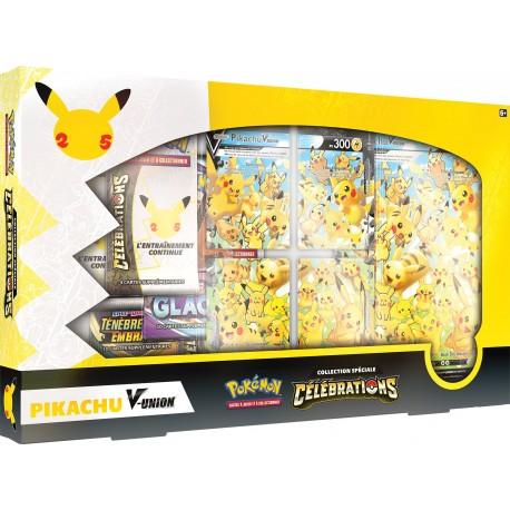 Pokémon - Coffret Célébrations - Collection Spéciale - Pikachu-V-UNION (FR)
