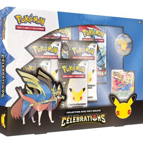 Pokémon - Célébrations - Collection avec Pin's Deluxe (FR)