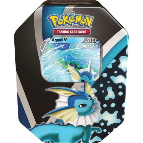 Pokémon - Fall Tin 2021 - Pokébox - Aquali V (FR)