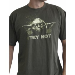 Star Wars - T-shirt - Yoda Try Not