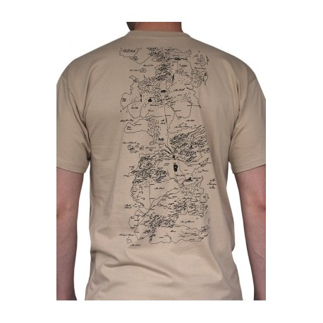 T-shirt Game of Thrones Map Sand on game of thrones pokemon shirt, game of thrones stark shirt, game of thrones school shirt, united states map shirt, africa map shirt, game of thrones beer bottles, fargo map shirt, game of thrones table book, westeros map shirt,