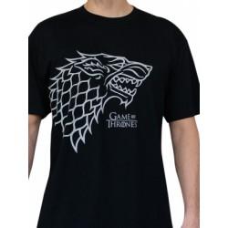 T-shirt Game of Thrones Stark Black