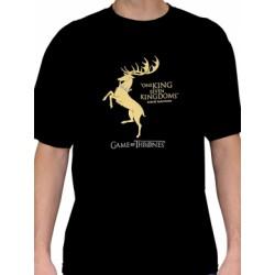 T-shirt Game of Thrones Stark Noir