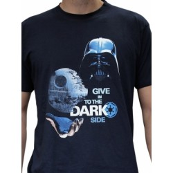 Star Wars - T-shirt - Dark Side (Blue)