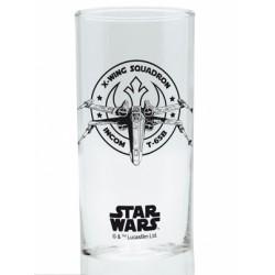 Glass Star Wars X-Wing