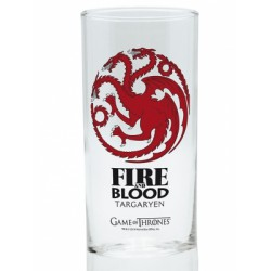 Verre Game of Thrones Targaryen