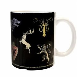 Mug Game of Thrones Houses logos Five Kingdom One Throne
