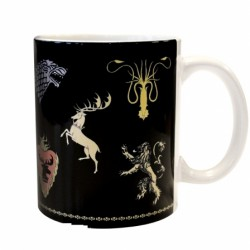Mug Game of Thrones Houses logos (320ml)