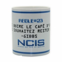 Mug NCIS Règles de Gibbs King Size (460ml)