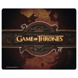 Game of Thrones Mousepad Logo and Map