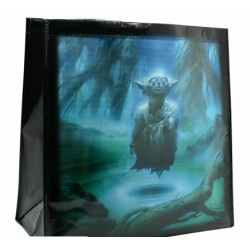 Star Wars Shopping Bag Yoda Darth Vador