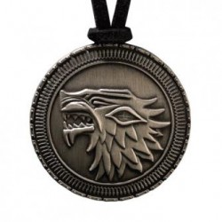 Pendentif Game of Thrones Bouclier Stark