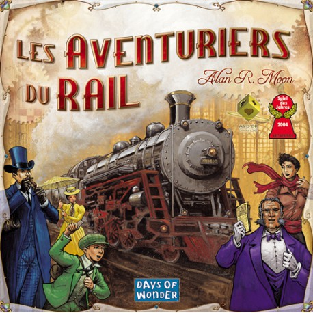 Les Aventuriers du Rail USA (Ticket to Ride USA) (Multi)