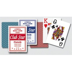 Poker Cartes Piatnik - Club Star Jumbo index