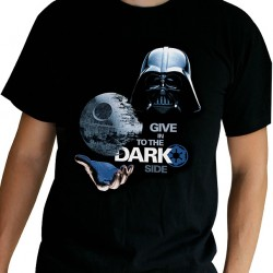 T-shirt Star Wars Dark Side Black