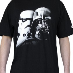Star Wars - T-shirt - Vador and Trooper