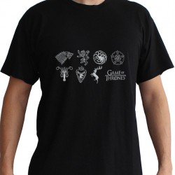 T-shirt Game of Thrones Sigles