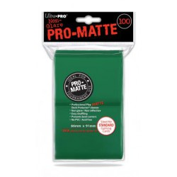 Ultra Pro 100 Pro-Matte Standard Sleeves Coloris
