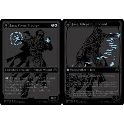 SDCC 2015 Exclusive Magic Origins Black Foil Planeswalkers set