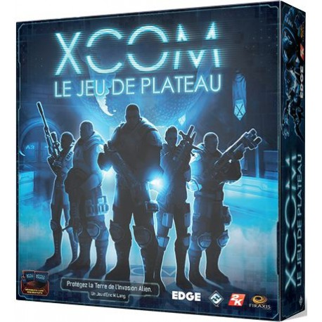 XCOM - The Board Game Layout