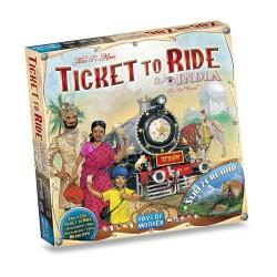 Les Aventuriers du Rail - Inde et Suisse Ticket to Ride India & Switzerland (Multi)