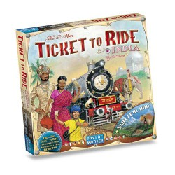 Les Aventuriers du Rail - Inde et Suisse Ticket to Ride India & Switzerland (Multi)