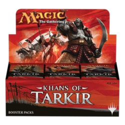 Khans of Tarkir Booster Display English