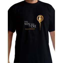 T-shirt Game of Thrones Main du Roi Noir