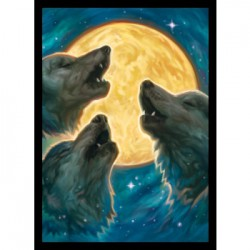 Legion Protège-cartes Mat : 3 Wolves (x50)
