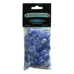 Gaming Counters Opaques Bleu Marbre Dragon Shield