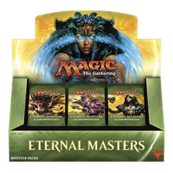 Eternal Masters Booster Box - 1 Box per customer